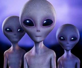 Alien extraterrestre intelligence