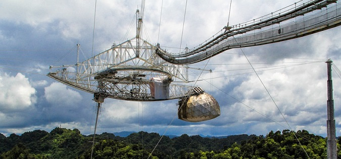 Arecibo signal message radio