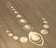Crop circle et OVNI