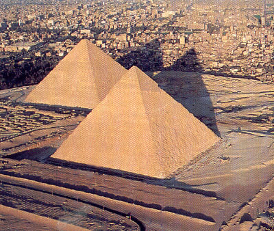 La construction des Pyramides